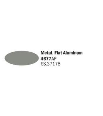 Flat Aluminum - Акрилна боя за моделизъм (20 ml)