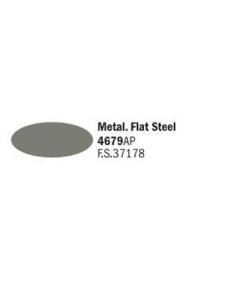 Flat Steel - Акрилна боя за моделизъм (20 ml)