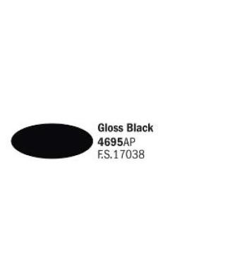 Gloss Black - Акрилна боя за моделизъм (20 ml)