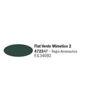 Flat Dark Green - Акрилна боя за моделизъм (20 ml)