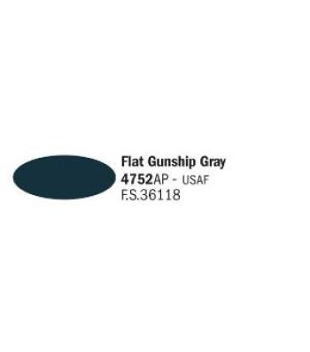 Flat Gunship Gray - Акрилна боя за моделизъм (20 ml)