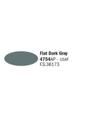 Flat Dark Gray - Акрилна боя за моделизъм (20 ml)
