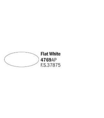 Flat White - Акрилна боя за моделизъм (20 ml)