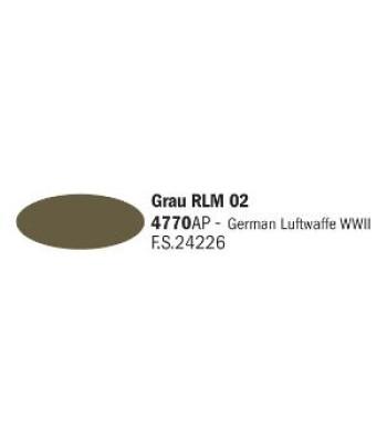 Grau RLM 02 - Акрилна боя за моделизъм (20 ml)