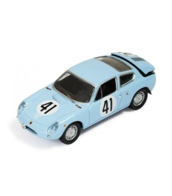 Simca Abarth 1300 #41 J.Rolland-R.Langeneste Le Mans 1962