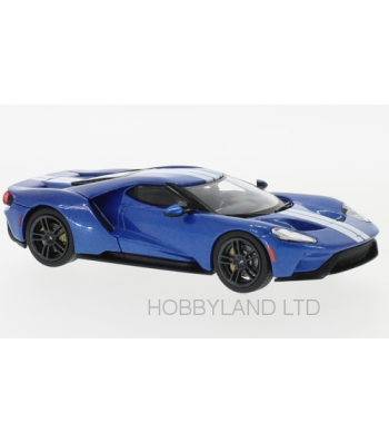 Ford GT 2017 blue / white