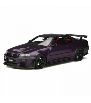 NISSAN SKYLINE GT-R NISMO Z-TUNE (R34) 1998 MIDNIGHT PURPLE/BLACK WHEELS