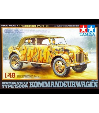 1:48 Германски командирски автомобил Steyr 1500