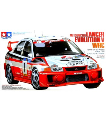 1:24 Състезателен автомобил Lancer Evo.V WRC