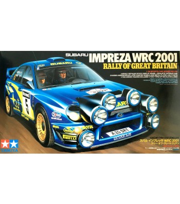 1:24 Състезателен автомобил Subaru Impreza WRC 2001 - Rally of Great Britain
