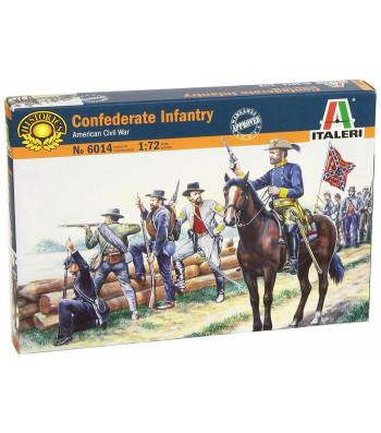 1:72 Американска гражданска война: Войски на Конфедерацията - 50 фигури
