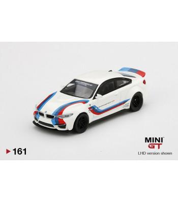 LB Works BMW M4, White with M Stripe