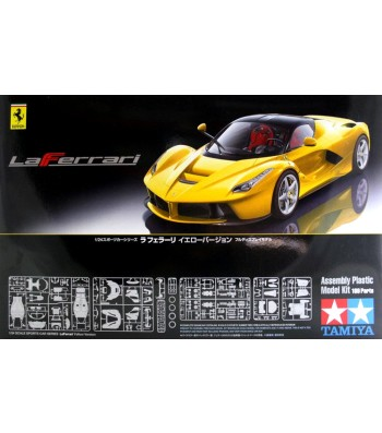 1:24 Автомобил LaFerrari Yellow Version