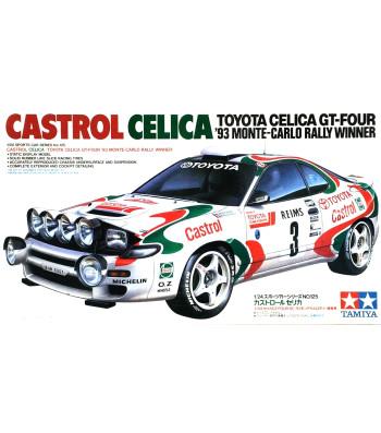 1:24 Състезателен автомобил Celica GT-4 '93 Monte-Carlo Rally