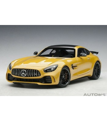 Mercedes-AMG GT R 2017 (AMG solarbeam yellow metal.) (composite model/full openings)