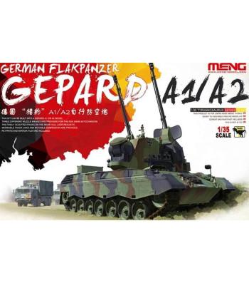 1:35 Германска противовъздушна оръдейна установка Гепард A1/A2 (German Flakpanzer Gepard A1/A2)