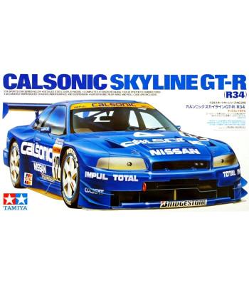 1:24 Състезателен автомобил Calsonic GT-R (R34)