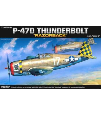 1:72 Американски едноместен изтребител Рипаблик П-47Д Тъндърболт (P-47D THUNDERBOLT RA)