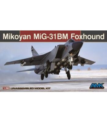"""1:48 Руски свръхзвуков изтребител Foxhound МИГ-31БМ/БСМ """"Foxhound"""" (Mikoyan MiG-31BM/BSM Foxhound)"""