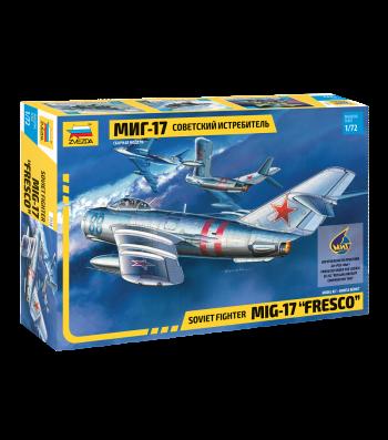"""1:72 Руски изтребител МИГ-17 ФРЕСКО (MIG-17 """"FRESCO"""")"""