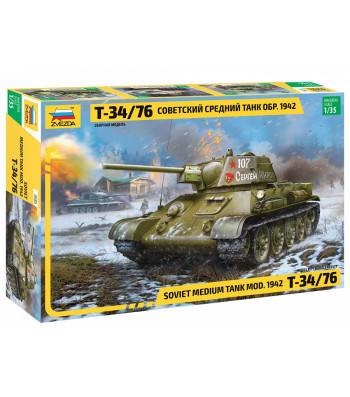 1:35 Съветски среден танк T-34/76 модел 1942
