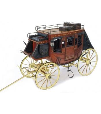 1:10 Дилижанс 1848 - Сглобяем модел от дърво