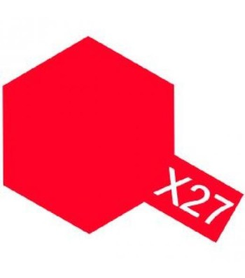 X-27 Clear Red - Acrylic Paint (Gloss) 10 ml