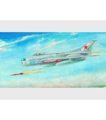 1:48 Руски изтребител МИГ-19ПМ Фармър Е (MiG-19PM Farmer E)