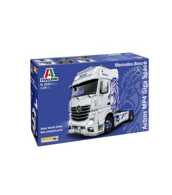 1:24 Влекач Mercedes-Benz ACTROS MP4 Giga Space
