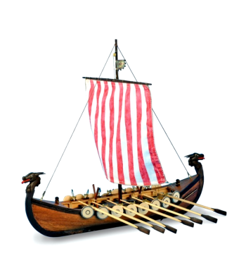 1:75 Викинг (New Viking) - Модел на кораб от дърво