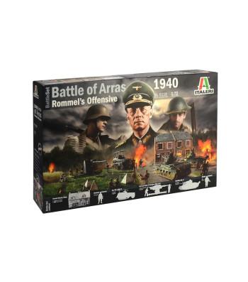 1:72 Диорама Втора световна война: 1940 Битката при Арас - Офанзивата на Ромел