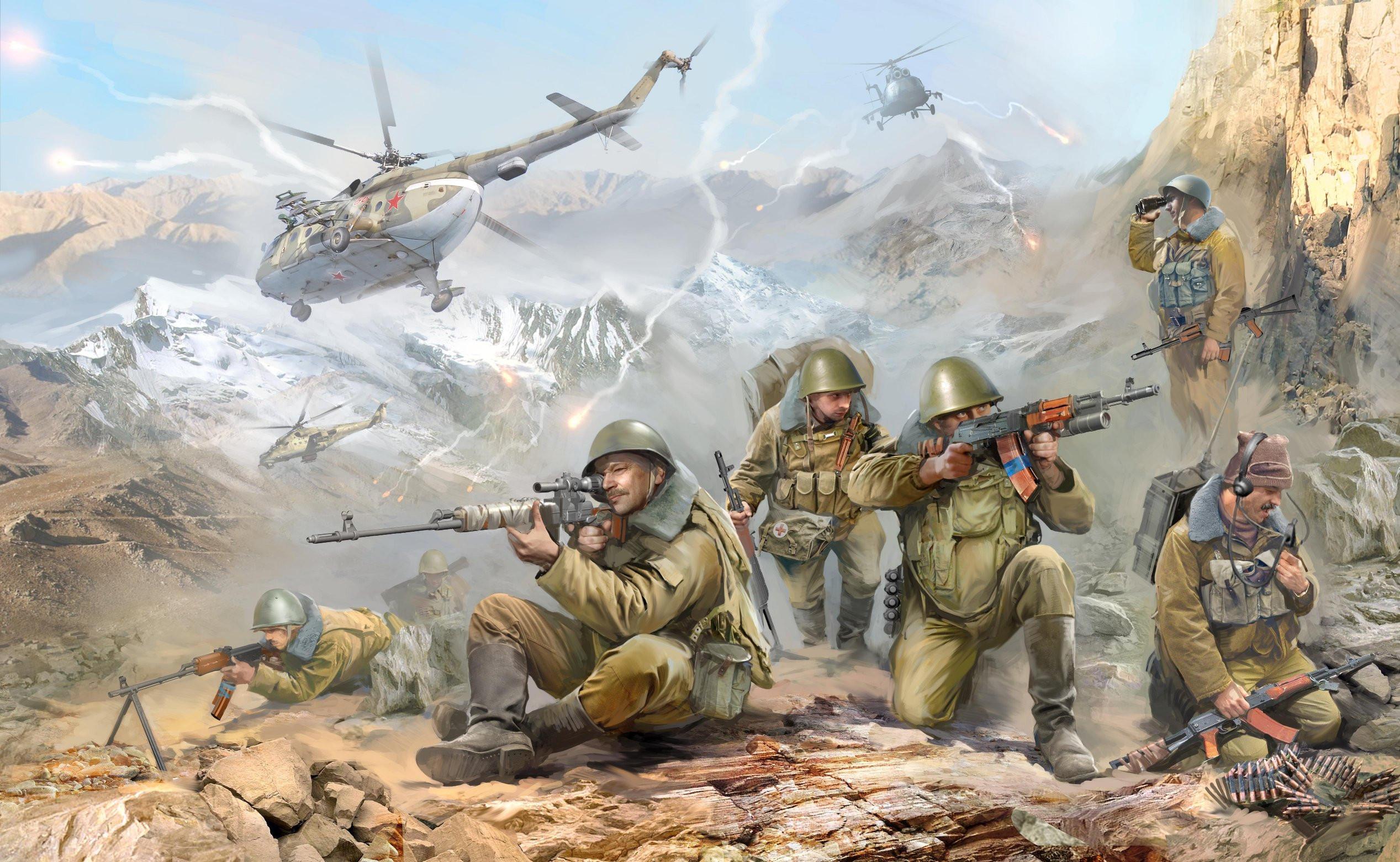 1:35 Съветски парашутисти от Афганистанската война (1979-1989) - 6 ...