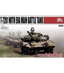 1:72 Руски основен танк Т-72Б1 с ЕРА (T-72B1 with ERA main battle tank)