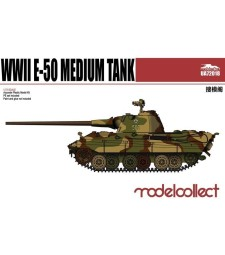 1:72 Германски среден танк Е-50 с 88 мм оръдие (Germany WWII E-50 Medium Tank with 88 Gun)