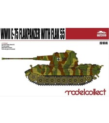 1:72 Германски фланкпанцер Е-75 с оръдие ФЛАК 55 (Germany WWII E-75 Flakpanzer with FLAK 55)