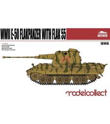 1:72 Германски фланкпанцер Е-50 с оръдие ФЛАК 55 (Germany WWII E-50 Flakpanzer with FLAK 55)