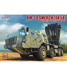 1:72 Реактивна система за залпов огън Russia BM-30 Smerch(9K58)multiple rocket launcher