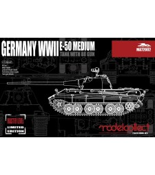 1:72 Германски среден танк Е-50 с 88 оръдие (Germany WWII E-50 Medium Tank with 88 Gun)