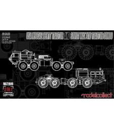 1:72 Американски военен влекач M983A2 и руски военен влекач МАЗ 7410 (USA M983A2 HEMTT Tractor and Soviet MAZ 7410 tractor COMBO)