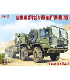 1:72 Германски високопроходим камион МАН KAT1M1013 8*8 (German MAN KAT1M1013 8*8 HIGH-Mobility off-road truck)