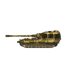 1:72 Германски танк Е100 с 170 мм оръдие, 1946, камуфлаж (German WWII Jagdpanzer E100 tank destroyer with  170mm gun, 1946, Camouflage)