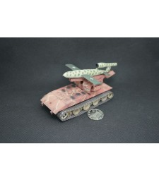 1:72 German WWII Waffentrager AUF E100 with V1 missile, 1946, Camouflage