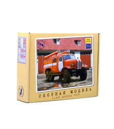 Fire Truck PMZ-27 (ZIL-157K).  Model Kit