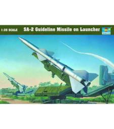 1:35 Съветскa противовъздушна ракетна установка С-75 Двина (SA-2 Guidеline Missile)