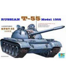 1:35 Съветски танк T-55 Модел 1958