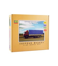 MAZ-6303 Flatbet Truck Model Kit