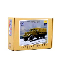 MAZ-502 Flatbed Truck with Tent Model Kit