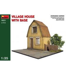 1:35 Селска къща с основа