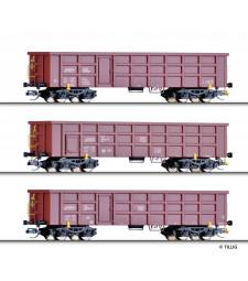 Сет от 3 товарни вагона (Rail GmbH, DB, БДЖ )