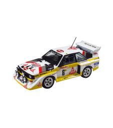 1:24 Състезателен автомобил Audi Sport Quattro S1 [E2]'86 Monte Carlo рали версия
